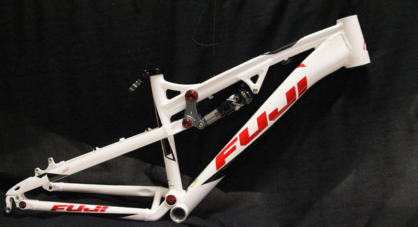 "2012 Fuji Belle 1.0 Women's Small 15"" Full Suspension 26"" MTB Bike Frame NEW"