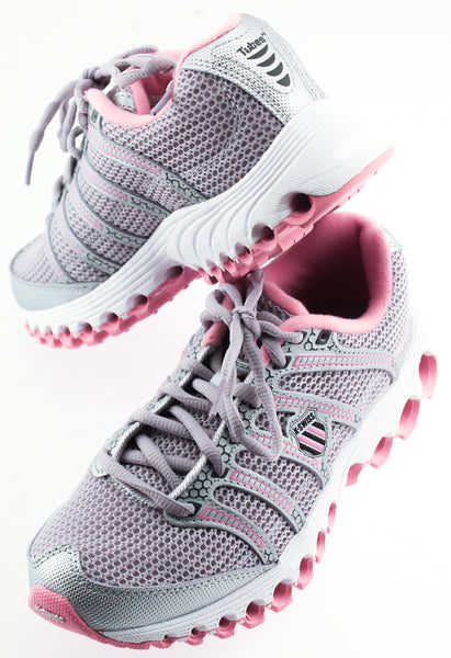 K SWISS TUBES RUN 100 MESH Women's Running Shoes US 3 1/2 EU 35 1/2 Pink NEW