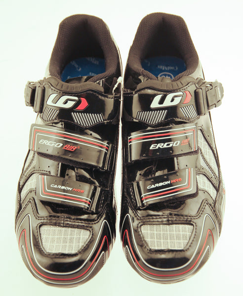 LOUIS GARNEAU CARBON HRS-2 MEN'S SHOES BLACK EURO 40 USA 6.5 NEW IN BOX