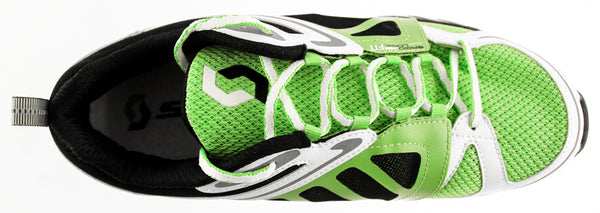 SCOTT MK4+ Men's Running Shoes US 9 EU 42.5 Green White Black Mesh AeroFoam NEW