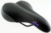 Bicycle Saddle Men's Sport Bike Seat Comfort Gel Black Steel Suspension NEW