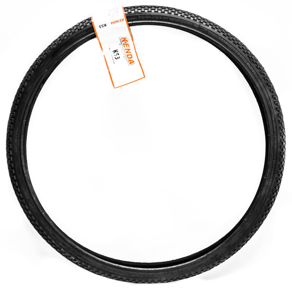 "Kenda K53 Bike Tires Size 26""x1.5"" 40-65psi Hybrid Wire Bead Black New With Tags"