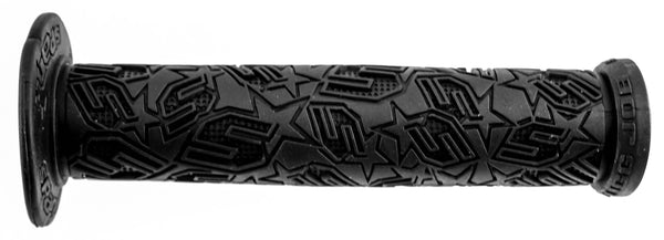 SPANK Tugg Job Bike Handlebar Grips 22.2 BMX Style Black Rubber Tweet Tweet New