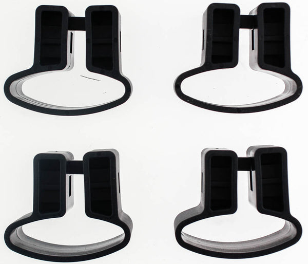 YAKIMA MIGHTY MOUNTS 7V #3507 Box of 4 Rooftop Car Roof Mount Rack Set Ski NEW