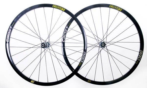 "Croft Galassia 27.5"" 650B MTB Bike Wheelset Shimano/SRAM 7-11s CL Disc QR NEW"