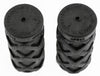 10 PAIR PLASTICHE PRO Grips ATB/ MTB/ BMX Bike Bicycle Handlebar Black Short NEW