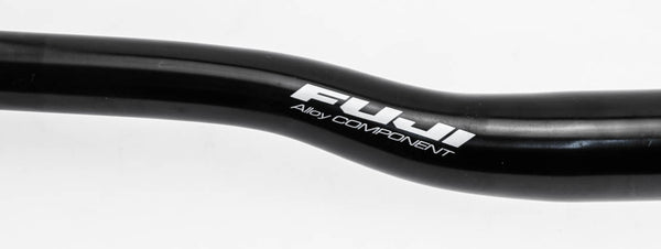 UNO / Fuji Alloy Components Mountain Bike Riser Bar 31.8mm x 645mm Black NEW