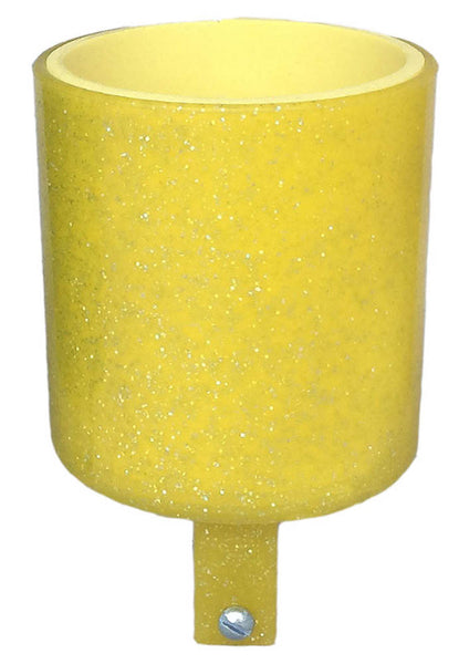 CRUISER CANDY Bike Bicycle Drink Holder Bar Mount Lemon Drop Sparkles NEW