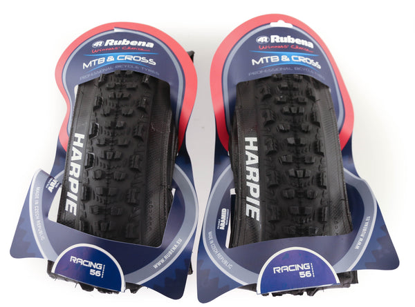 "2 QTY Rubena V79 Harpie SMC Compound 26 x 2.25"" MTB Bike Tires Folding Bead NEW"