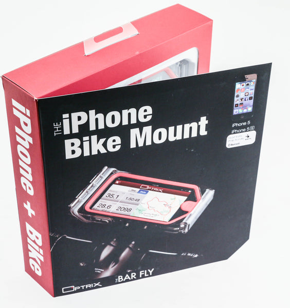 BAR FLY Optrix iPhone 5/5s Bike Mount + Heart Rate Monitor ANT+ Bluetooth NEW