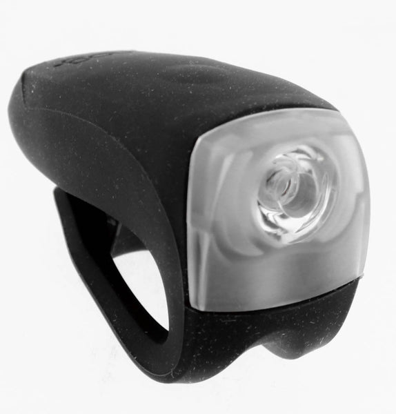 KNOG BOOMER 1 White LED Bike Headlight Black 30 Lumen 4 Mode 600m Visibility NEW