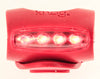 KNOG SKINK Red Bike Rear Tail Light 4 RED LED 3 Flash Mode Water Resistant NEW