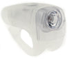 KNOG BOOMER '12 Translucent 1 White LED Bike Headlight 25 Lumen 4 Mode 600m NEW