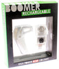 KNOG BOOMER '12 White W/ 1 RED LED Bike Rear Light 5 Lumens 3 Modes 600m Vis NEW