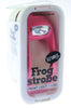 KNOG FROG Rose Strobe Single LED Bike Headlight 8.5 Lumens White LED 600m NEW