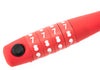 Knog Party Combo 620mm Cable Combination Bike Lock Braided Steel Red New