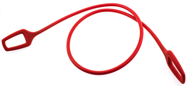 Knog Ring Master 1.2 Bike Cable 1200mm Silicone/Steel Red 10mm New