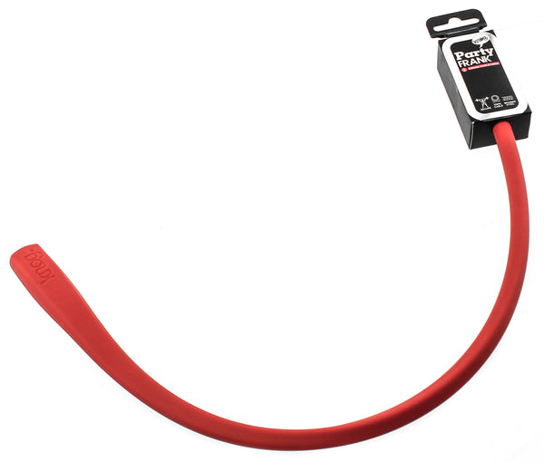 KNOG PARTY FRANK 620mm Cable Bike Lock With Bracket Red Keyed Steel NEW