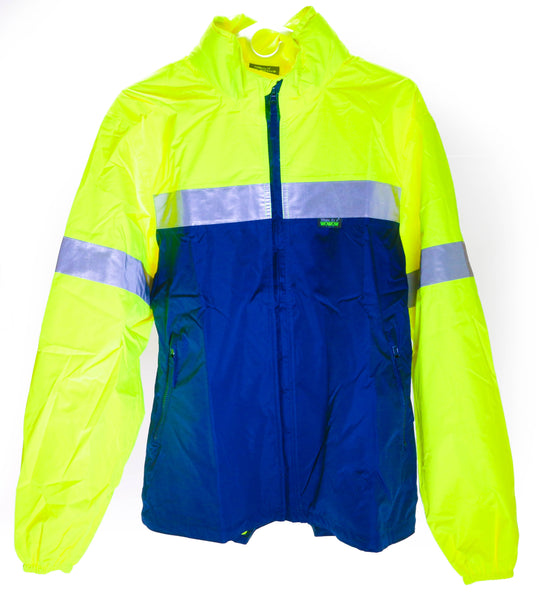 WOWOW Reflective RW-840 Medium Bike Cycling / Outdoor Rain Jacket Waterproof NEW
