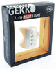 KNOG GEKKO White W/ 3 RED LED Bike Tail Light Rear 5 Flash Mode 2.4 Lumen NEW