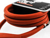 Knog Party Coil 1300mm Coiled Cable Bike Lock 10mm Braided Steel Red NEW