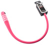 Knog Party Combo 620mm Combination Bike Lock Braided Steel Rose Pink New