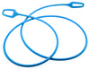 KNOG RING MASTER 2.2m Bike Cable Bike Silicone Over-Moulded Blue 10mm Steel NEW