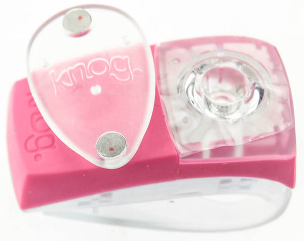 KNOG BOOMER Wearable Bike Rear Pink W/ RED LED Light 7 Lumens 4 Mode 600m NEW