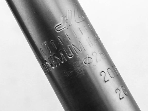 HL Corp Bike Quill Stem 95mm Reach 90mm Length 25.4mm Silver Steel New