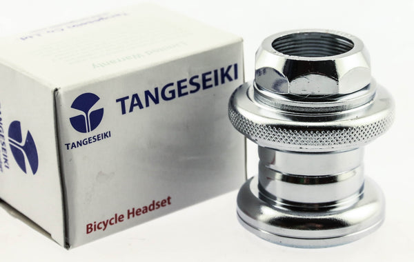 "Tangeseiki TG-235 1"" Threaded Bike Headset 27 / 30mm JIS 37mm Stack NEW"
