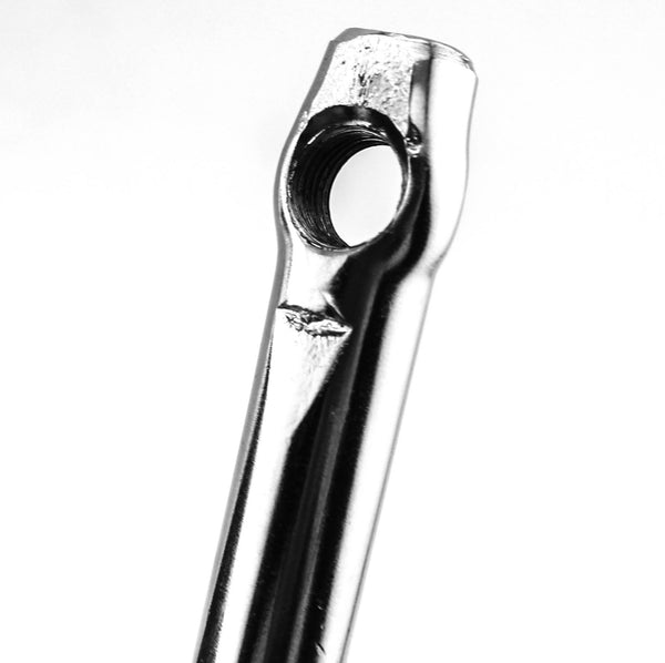 American / Ashtabula One Piece Crank Arm 90mm 24tpi Hex Mount Steel Youth New