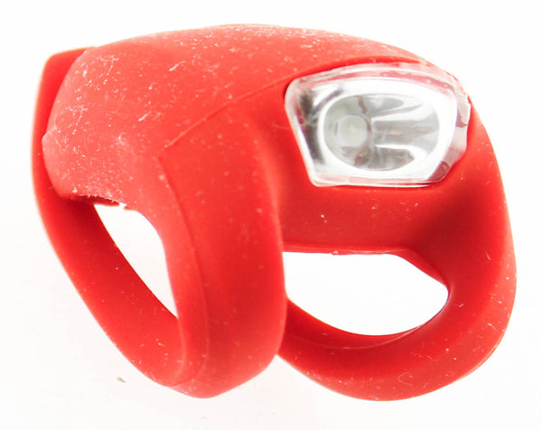 KNOG FROG Strobe Single White LED Bike Headlight Red 8.5 Lumens Front NEW