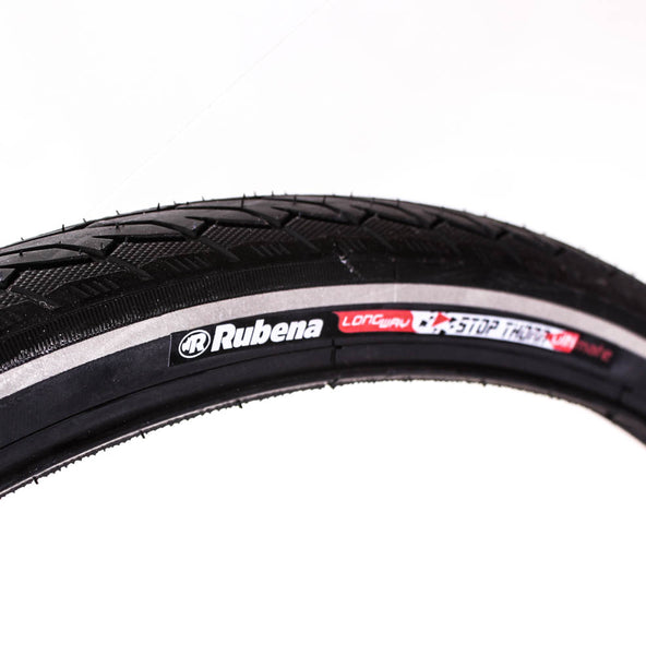 RUBENA FLASH V66 26 x 1.75 Bike Tire Wire Bead Black Stop Thorn RS PSI 65 NEW
