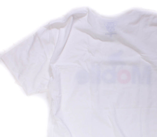 CLOCKWORK GEARS MOBILE Men's Medium T-Shirt Short Sleeve White Cotton Crew NEW