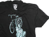 CLOCKWORK GEARS LIBERTY RIDE Men Sm T-Shirt Short Sleeve Black Cotton Crew NEW