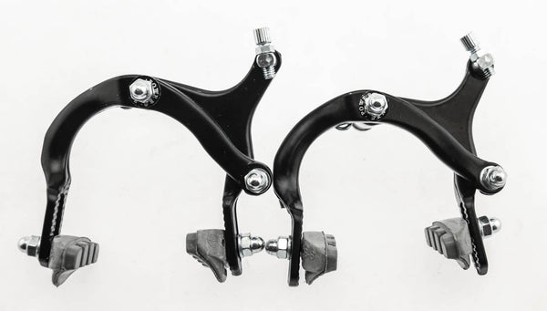 Power Brake Side Pull Caliper Road / MTB / BMX Bike Brakeset Black F + R NEW