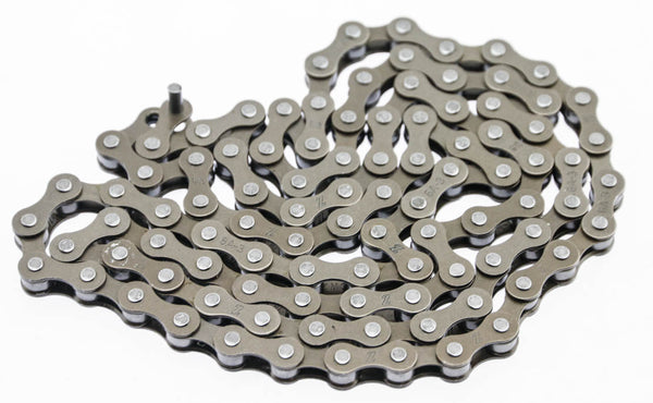 "KMC Z BMX Track Bicycle Chain Single Speed 1/8"" x 1/2"" 98 Links New Take Off"