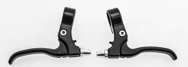 Aluminum MTB Bike Brake Lever Set Left + Right Short Pull Compatible Black NEW
