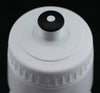 6 QTY 22oz Ounce Bicycle Water Bottles Screw Cap White NEW