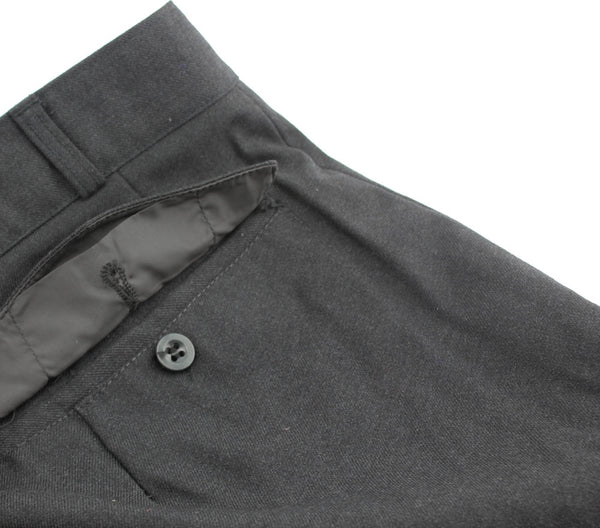"Vintage Dress Slacks Pant Wool Blend Men's Grey Size 30 1/2 x 29"" Hemmed NEW"