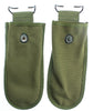 2 PACK US Military Tool Carrier Pouch Collectible Heavy Canvas Snap Close NEW