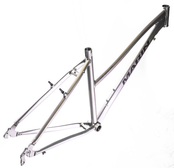 "MARIN SAN ANSELMO 17"" Women's Hybrid City 700c Bike Frame Silver Alloy NOS NEW"
