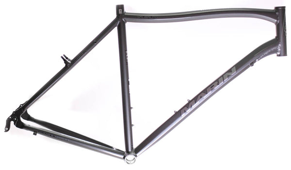 "MARIN SAUSALITO 22"" Road Commuter Bike Frame Alloy Grey 700c E3 Tubing NOS NEW"