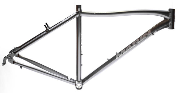 "MARIN SAN ANSELMO 17"" Hybrid City 700c Bike Frame Silver Alloy V-Brake NOS NEW"