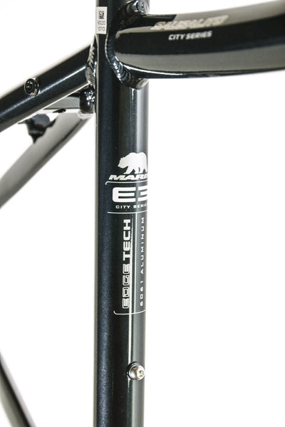 "MARIN SAUSALITO 15"" Road Commuter Bike Frame Alloy Black 700c E3 Tubing NOS NEW"