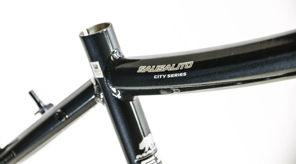 "19"" MARIN SAUSALITO Road Commuter Bike Frame Alloy Black 700c E3 Tubing NOS NEW"