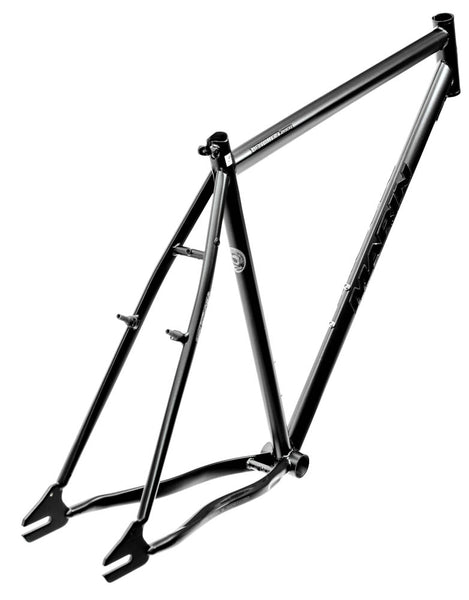 "22"" MARIN HAMILTON 29ER Urban Single Speed Fixed Gear Bike Frame CrMo Black NEW"