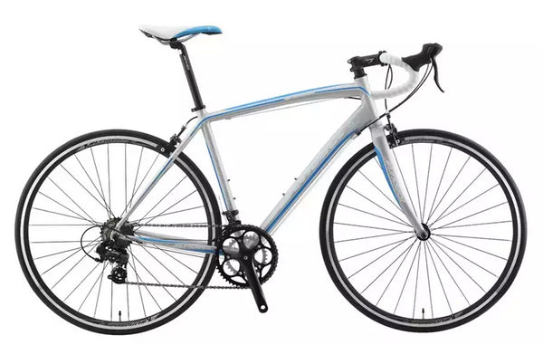 Sundeal R7 50cm Road 700c Bike 6061 Alloy Frame Shimano Tourney 2 x 7s Gray NEW