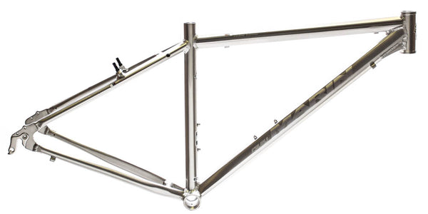 "MARIN SAN ANSELMO 15.5"" Hybrid City 700c Bike Frame Silver Alloy V-Brake NOS NEW"