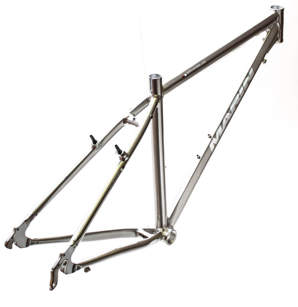 "MARIN SAN ANSELMO 13.5"" Hybrid City 700c Bike Frame Silver Alloy V-Brake NOS NEW"